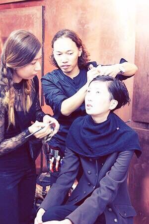 Chie hagihara hairmake team